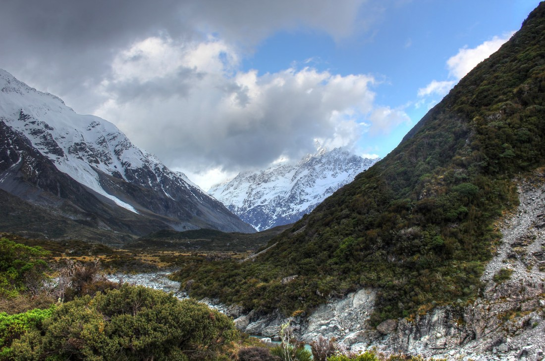 Hooker Valley and Mount Cook View