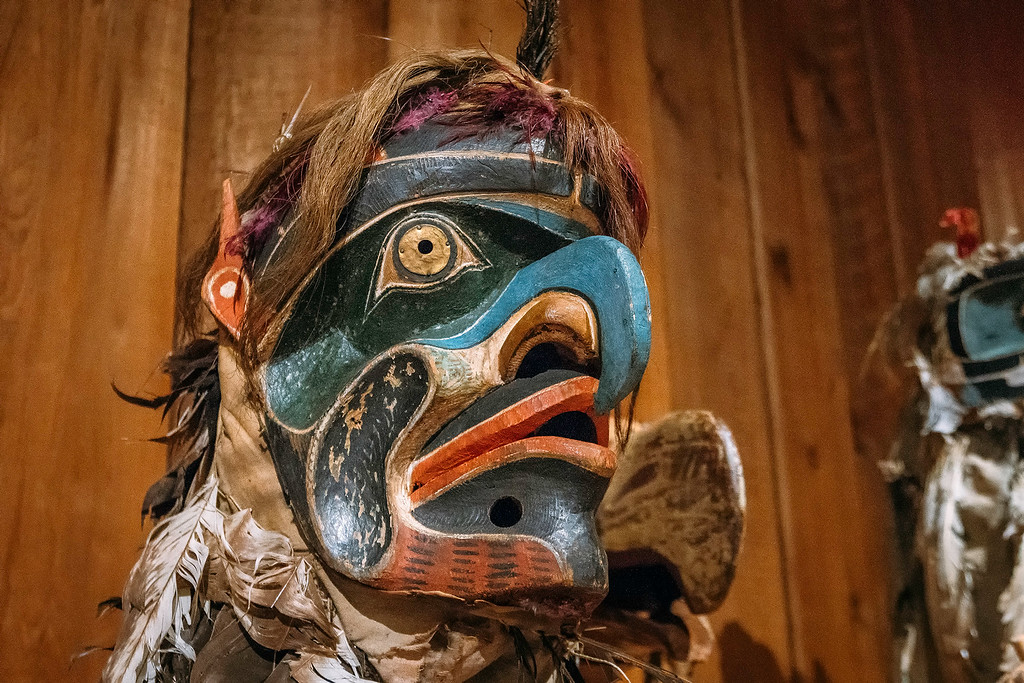 First Nations Wooden Mask