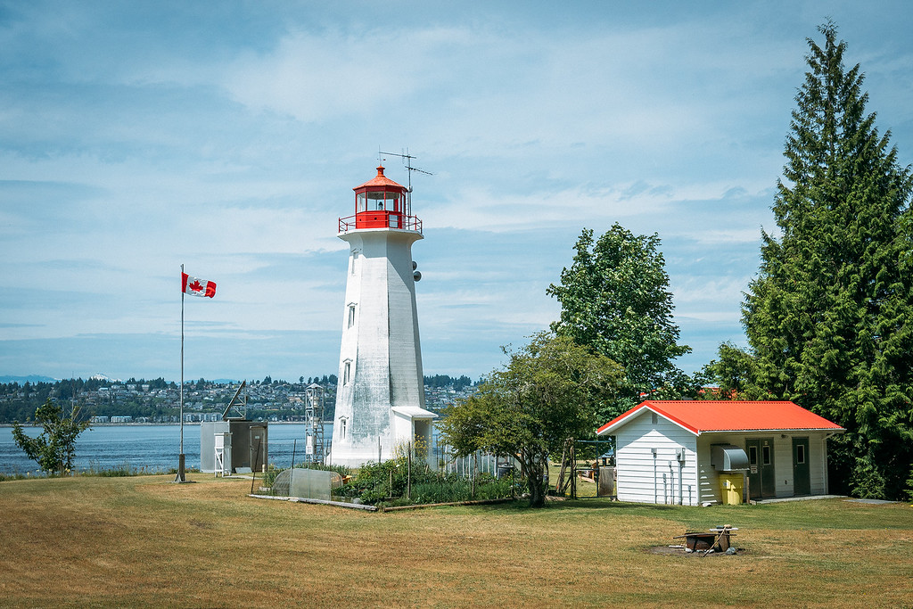 Lighthouse on Quadra Island