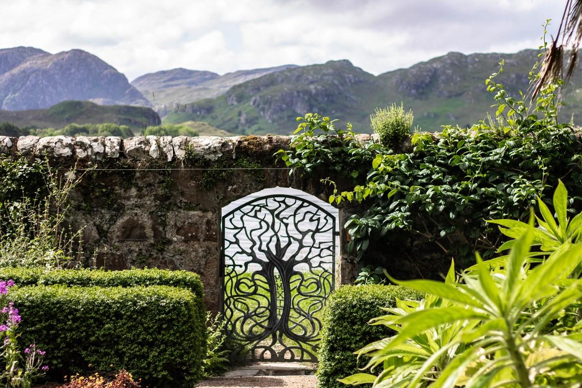 Inverewe Gardens, Scotland, North Coast 500 Route