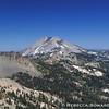 Mt Lassen from Brokeoff Summit