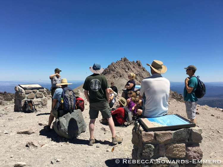 Summit Ranger Talk on the Volcanic history of Lassen Peak