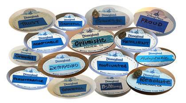 glimmers of hope cast member nametags