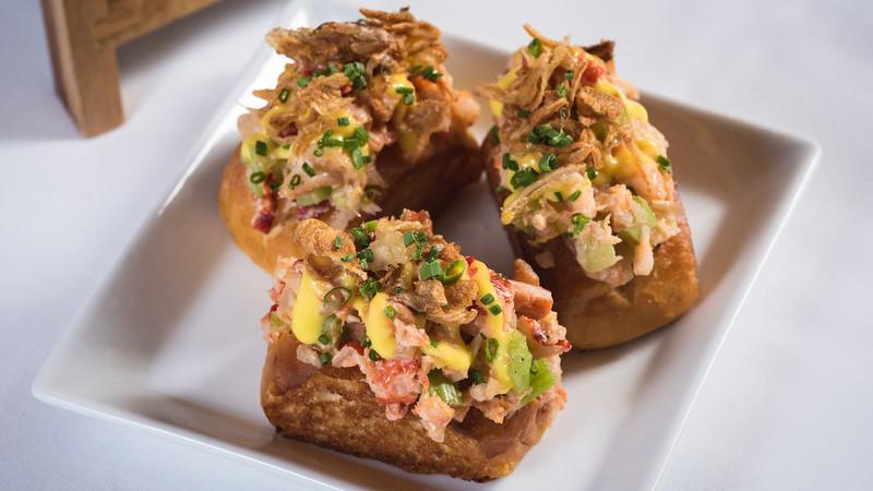 Disney Princess Breakfast Adventures at Disney's Grand Californian Hotel & Spa - Mini Lobster Rolls