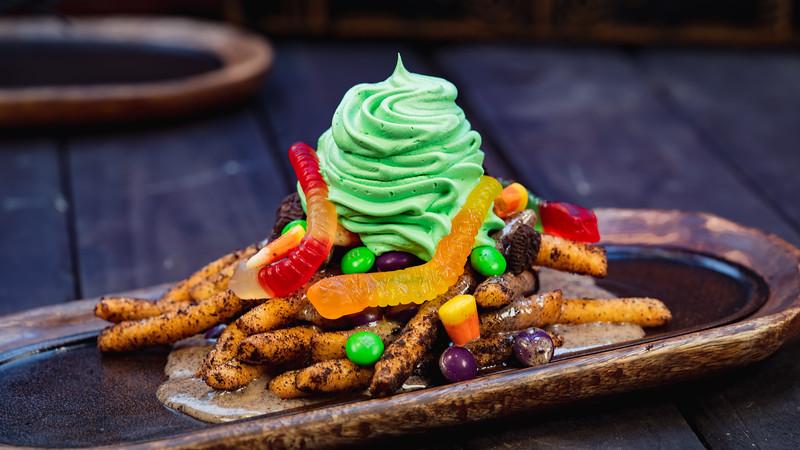 Halloween Time Treats at Disneyland Resort - Oogie Boogie-Inspired Funnel Cake Fries