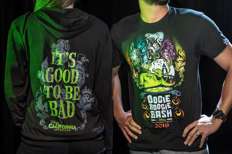Halloween Time at Disneyland Resort – Oogie Boogie Bash Zip Fleece and Adult Tee