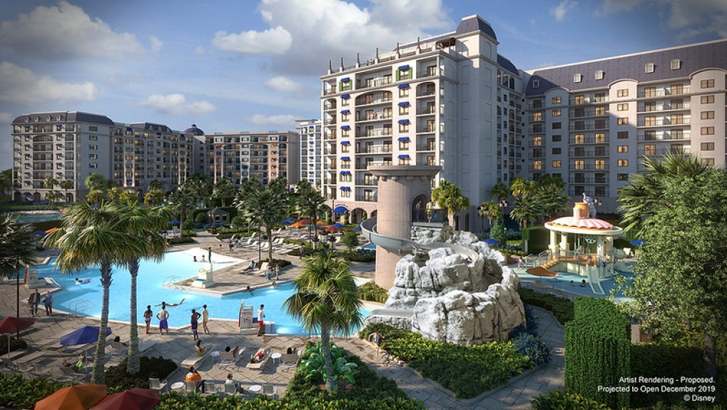 Disney's Riviera Resort concept art