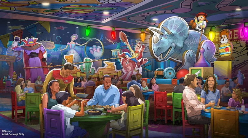 roundup rodeo toy story land disney hollywood studios