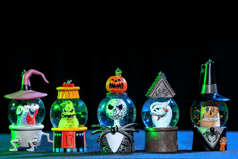 Halloween Time at Disneyland Resort – The Nightmare Before Christmas Ornaments