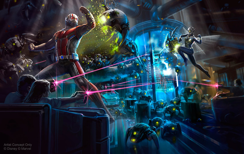 Disney confirms 'Ant-Man and The Wasp: Nano Battle!' name for new attraction