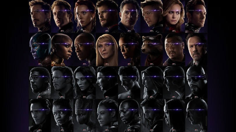 Avengers Endgame Unleashes 32 Posters Commemorating Both Present
