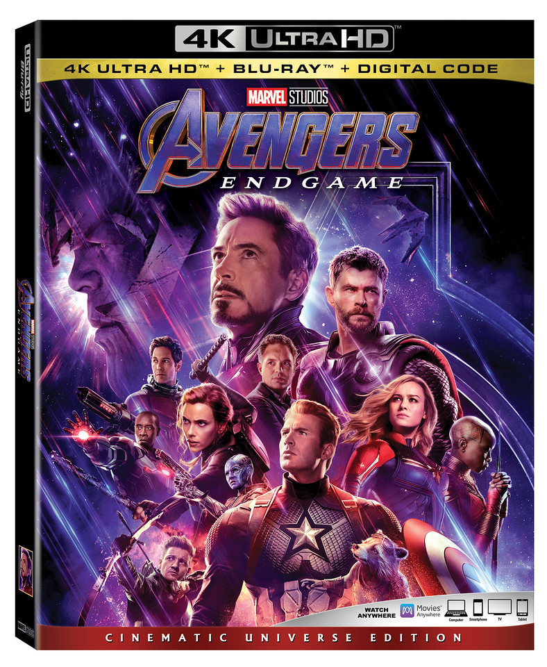 AVENGERS: ENDGAME home release sums up MCU with modest but suitable edition