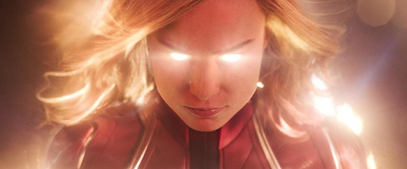 You know you're glowing, right? CAPTAIN MARVEL dominates box office with $455 MM global take