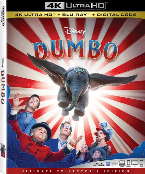 REVIEW: Not quite circus-sized home release of DUMBO still brings fun and feelings