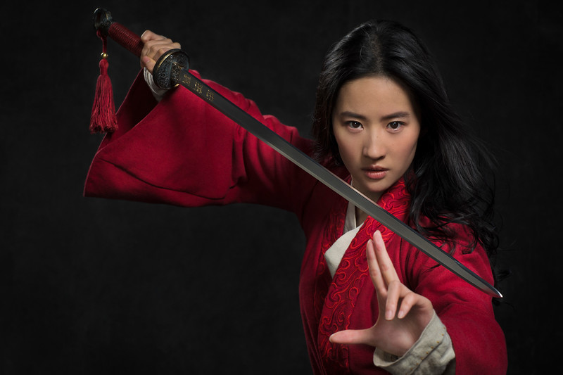 Disney's MULAN<br /> <br /> Mulan (Yifei Liu)<br /> <br /> Photo: Stephen Tilley<br /> <br /> © 2018 Disney Enterprises, Inc. All Rights Reserved.