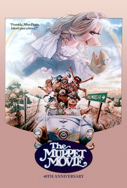 Muppet Movie 40th Poster