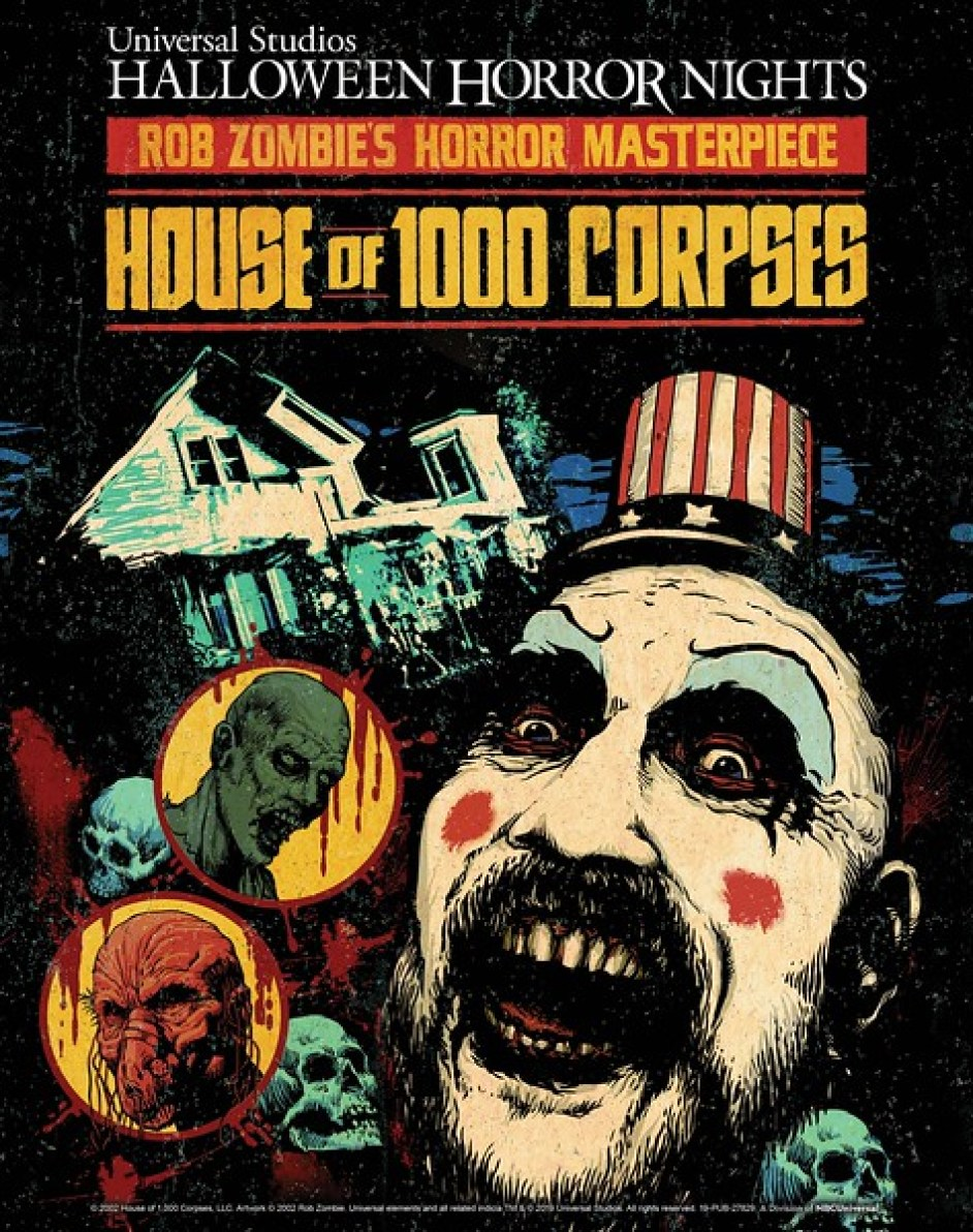 "Rob Zombie's Cult Classic Movie from Lionsgate ""House of 1000 Corpses"" is the Inspiration for Universal Studios Hollywood and Universal Orlando Resort's All-New Twisted ""Halloween Horror Nights"" Maze"