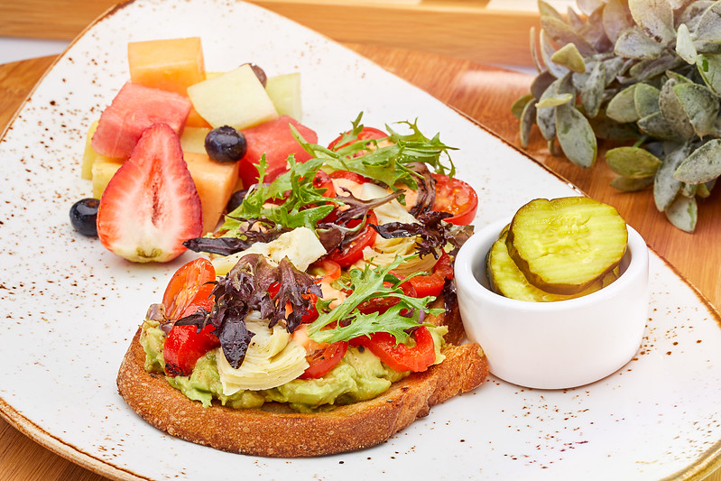 Food Services MFO Today Show Cafe 041119<br /> Menu Boards<br /> AVOCADO TOAST<br /> USF