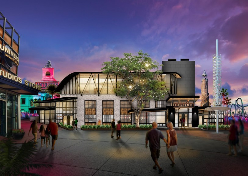 In summer 2019, Universal Orlando Resort will debut its next original concept dining experience – Bigfire – an all-new, full-service restaurant that will bring a specially created menu and a highly-themed environment directly to guests at Universal CityWalk – and take open fire cooking to a whole new level.