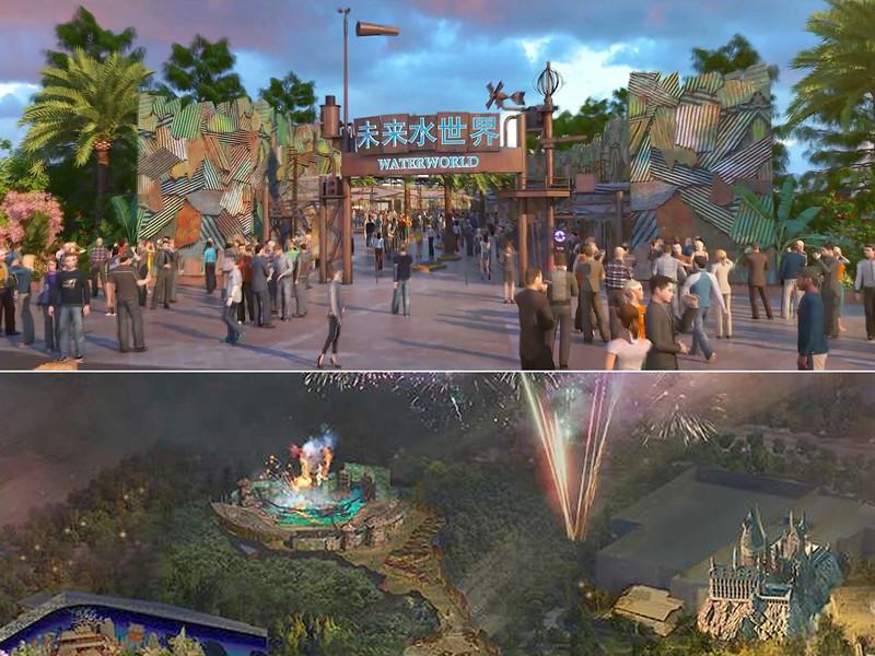 universal beijing resort - waterworld
