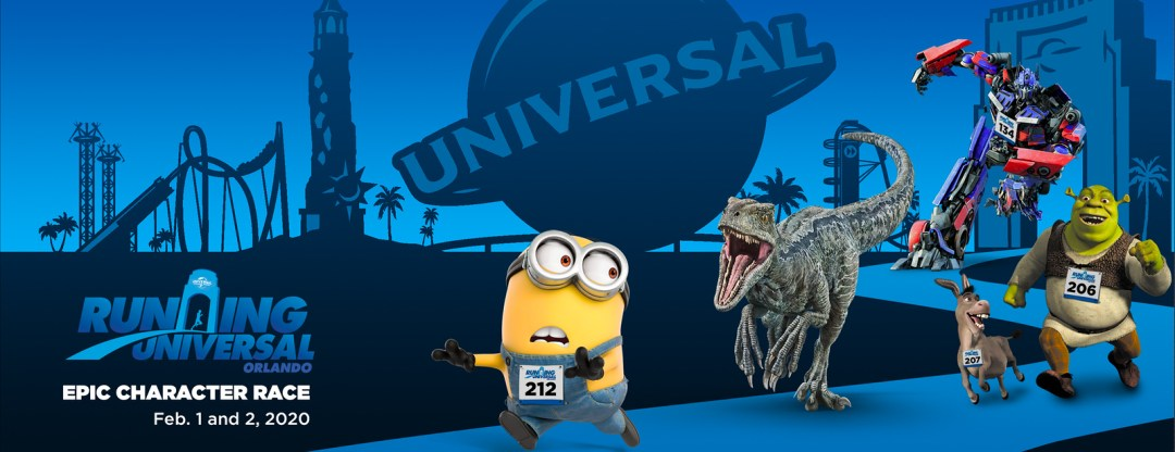 Running Universal Epic Character Race 5K and 10K Weekend
