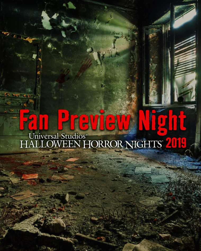 "Universal Studios Hollywood Jump Starts ""Halloween Horror Nights"" on Thursday, September 12, Offering Guests an Exclusive First Look Preview Before It Officially Opens on Friday, September 13"