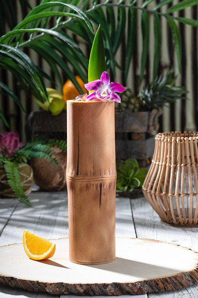Bamboo-Style Tiki Cup from Isla Nu-Bar at Universal Studios Hollywood