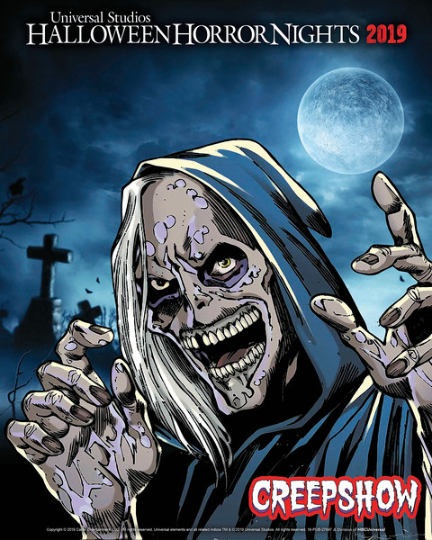 """Inspired by the 1982 Cult Classic Film and Shudder's Original 2019 Anthology Series, """"Creepshow"""" Comes to Life at Universal Studios Hollywood as an All-New Terrifying """"Halloween Horror Nights"""" Maze"""
