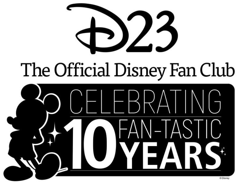 d23 10 year anniversary logo-black