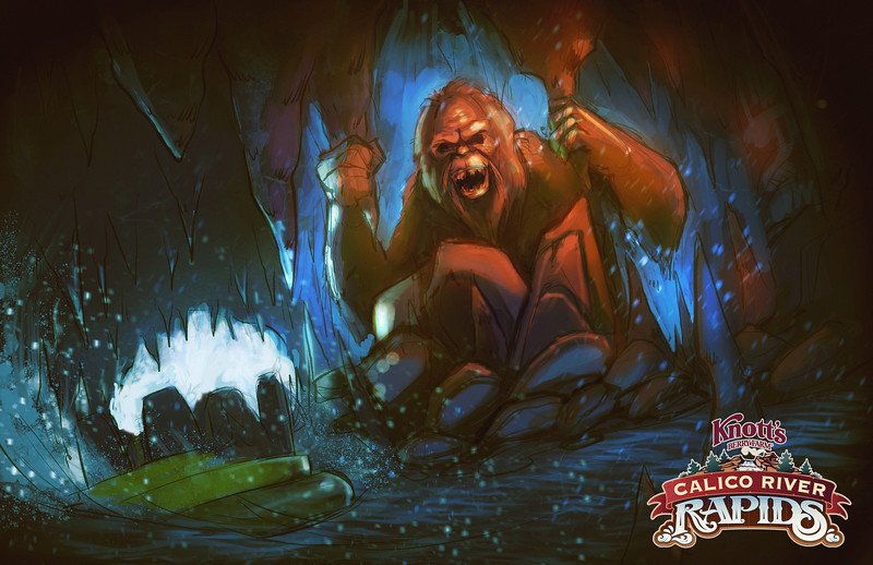Calico River Rapids - Bigfoot