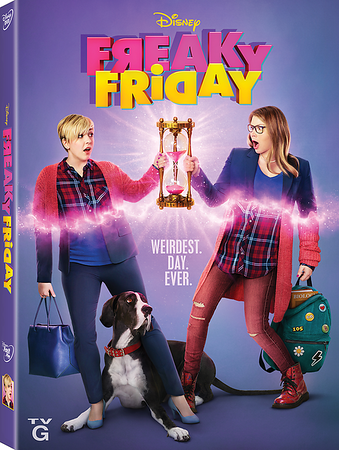 REVIEW: Musical movie FREAKY FRIDAY brings heaping dose of Disney family fun in home release
