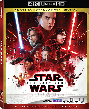 REVIEW: Dive WAY deeper into 'STAR WARS: THE LAST JEDI' via plentiful features of new home release
