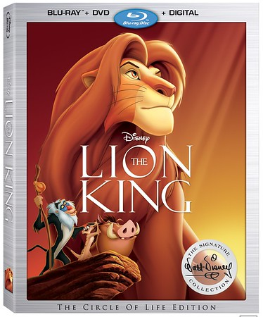 REVIEW: THE LION KING has returned, Disney Signature Collection offers lion's share of extras both real and digital!