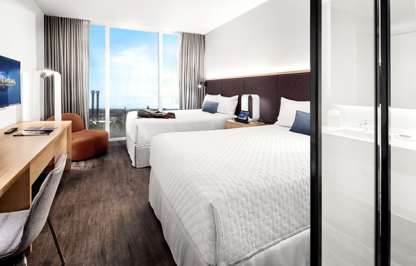 17-26071 AVT17 Adentura Model Room Shoot - Model Room LB McLeod, Universal's Aventura Hotel, UAH, Hotels, Accommodations, Project 927, Resort, RES, Prime Value, Universal Orlando Resort, UOR, UO Double Queen