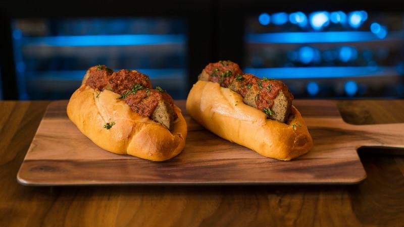 Mini Meatball Subs - Universal Studios Hollywood