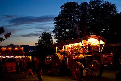 Carters steam fair night pinkneys green