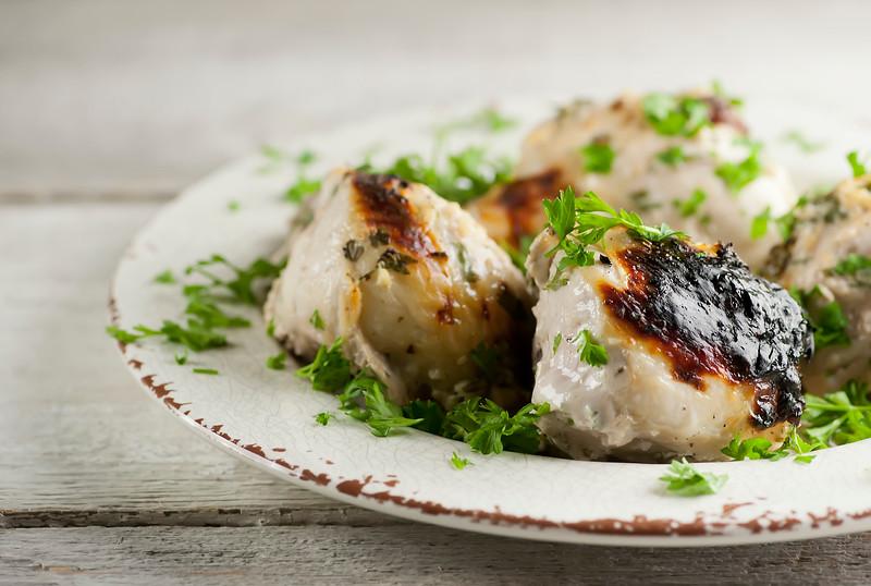 Roasted buttermilk chicken