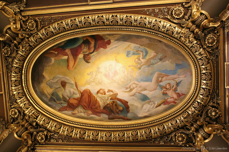 Ceiling Fresco in the Grand Foyer of the Palais Garnier
