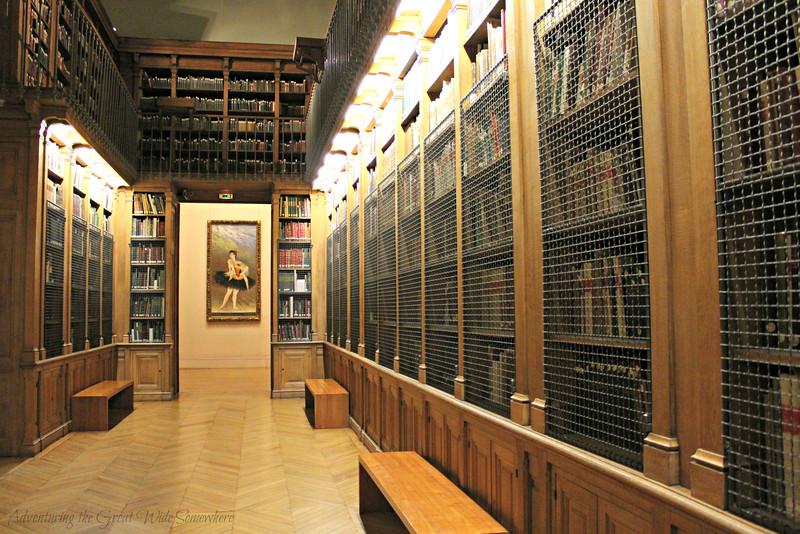The Palais Garnier Library-Museum in Paris, France