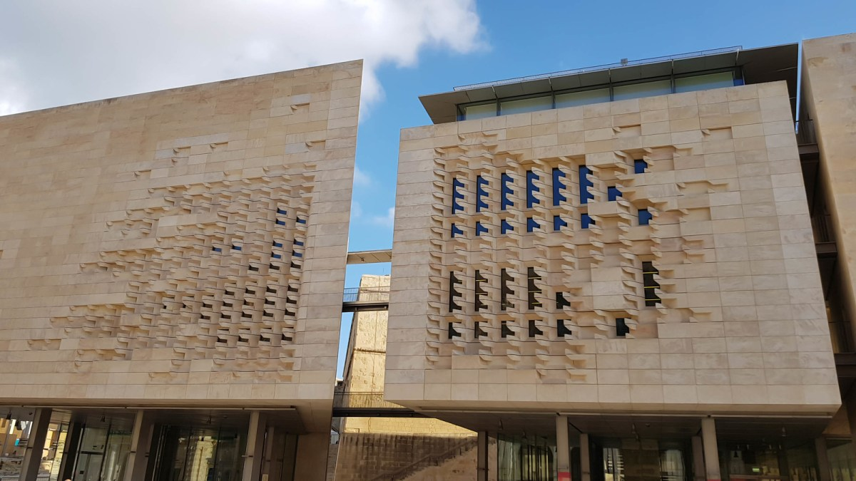 Self-Guided Valletta Walking Tour - New Parliament Building