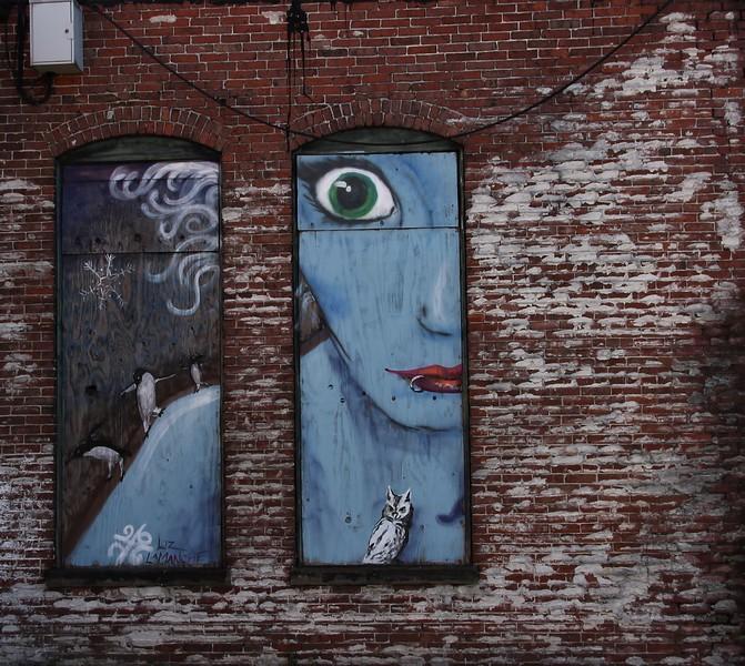 street art by Liz LaManche