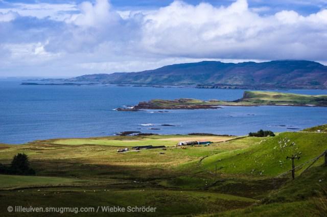 Looking over Balmeanach