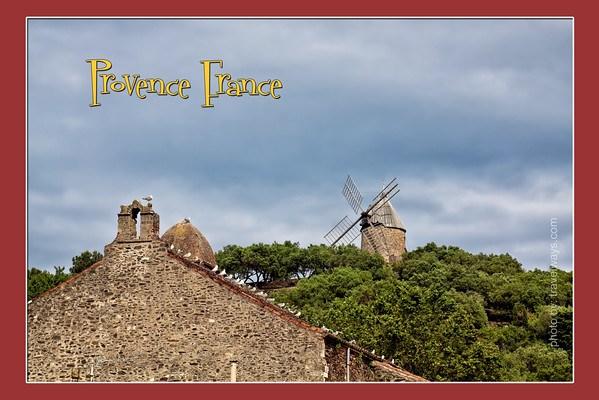 France Provence postcard