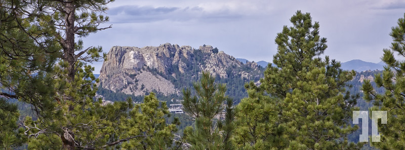 Mount Rushmore seen from Custer Park