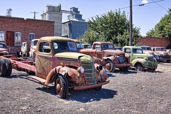 Old trucks Washington