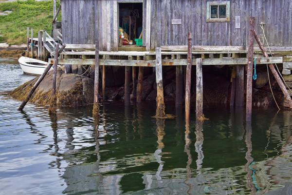 Low tide at Peggy's Cove, Nova Scotia