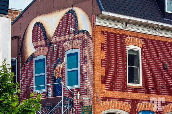 Mural in Smith Falls, Ontario