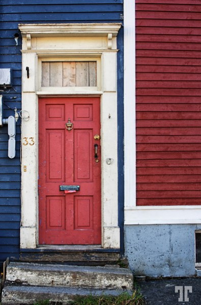 Red door St. John's NFL