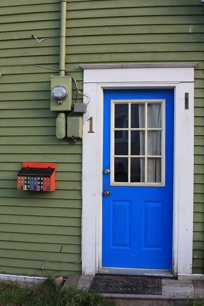 Blue door St. John's