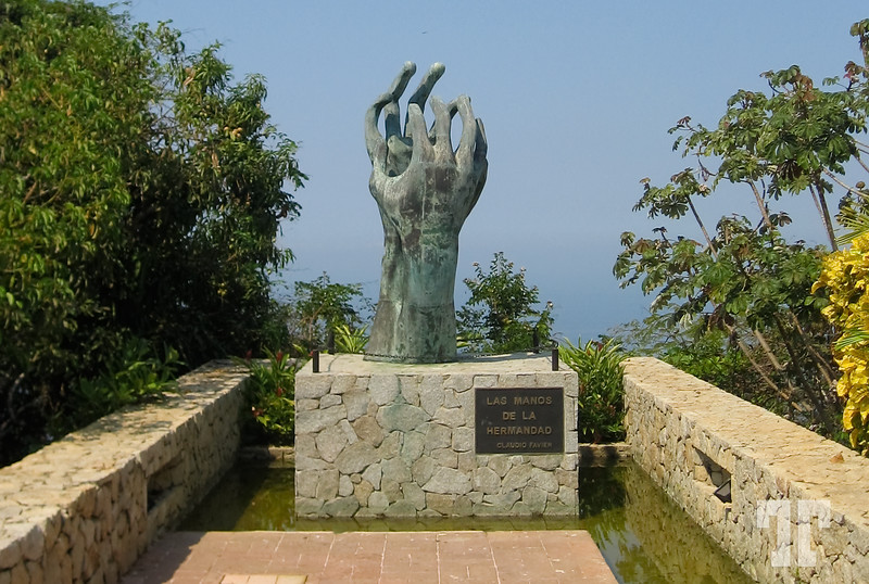 Sculpture at the Chapel of Peace, Acapulco